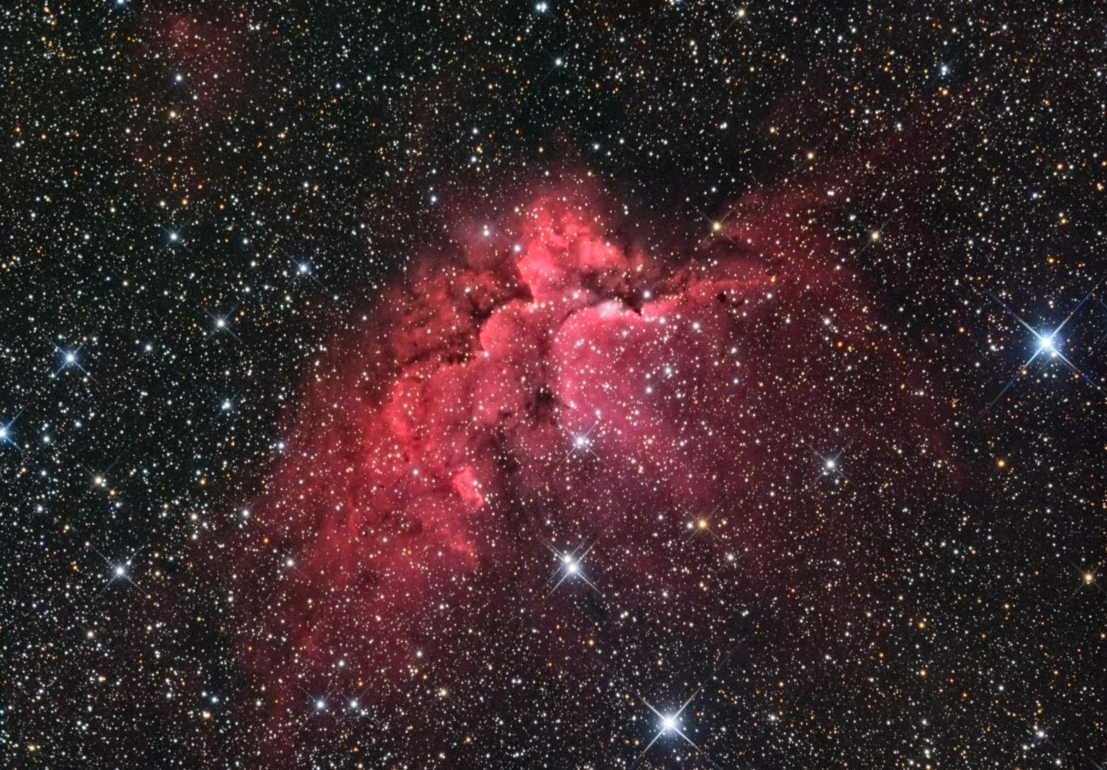 NGC7380 6hr HaRGB Jan 2015