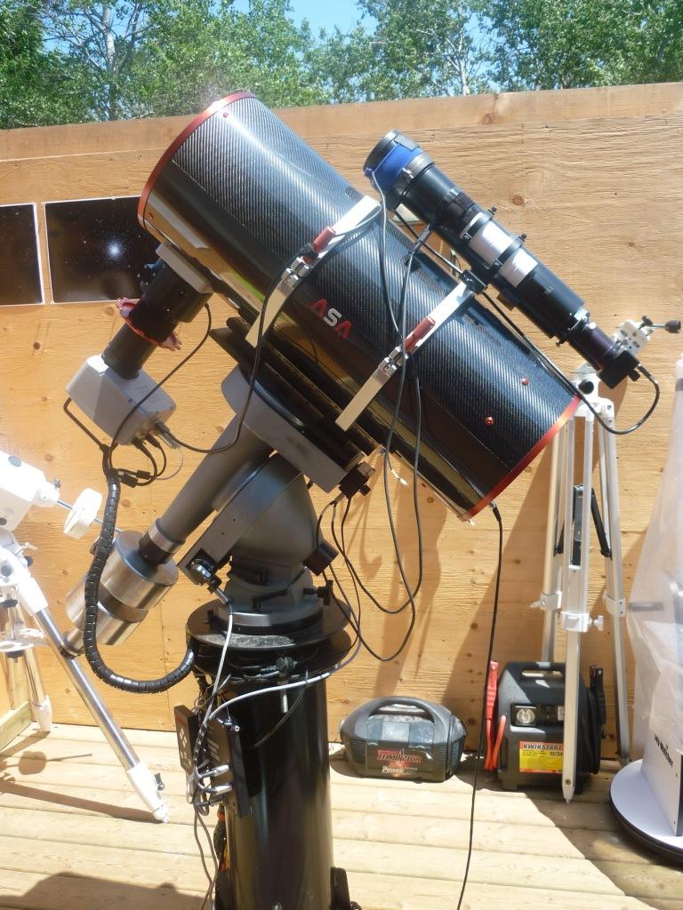 10-inch ASA on MI-250 mount