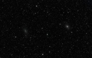 caldwell 17 and 18 galaxy