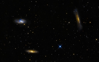 M65, M66 and NGC3628