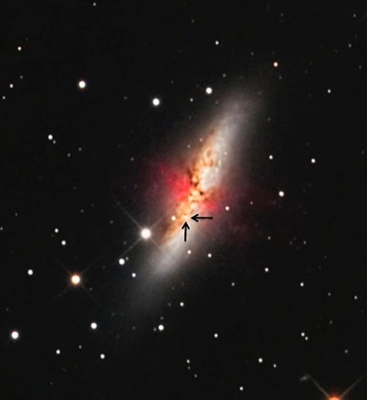SN2014J in M82