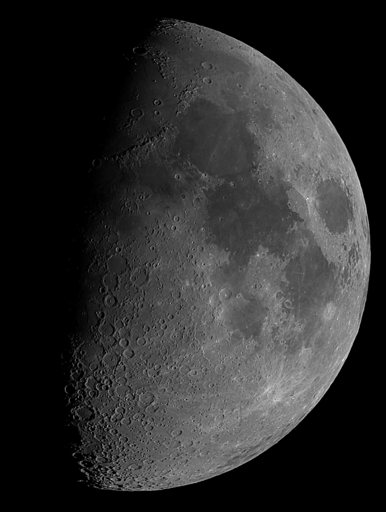 The Moon Oct 2013 by Ron Brecher