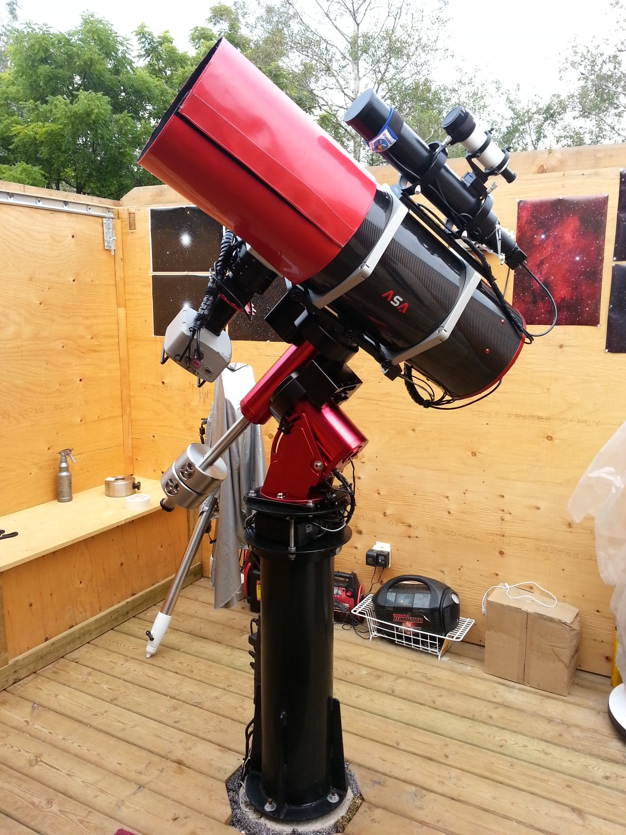 ASA 10″ Astrograph on Paramount MX
