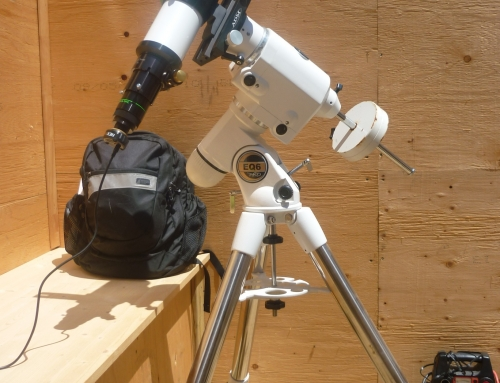 80mm f/6 Refractor on EQ-6 Mount