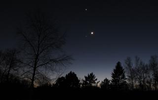 Moon venus jupiter