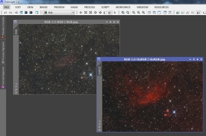 RGB-HaRGB Comparison