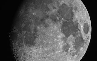 Gibbous Moon, Oct 4 2014