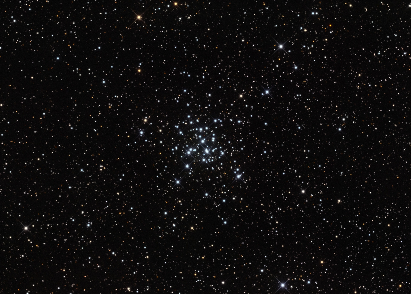 M36 open cluster