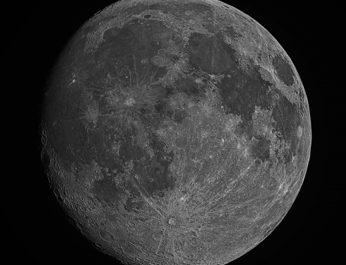 Gibbous Moon, June 29, 2015