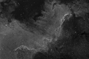 Cygnus Wall, H-alpha
