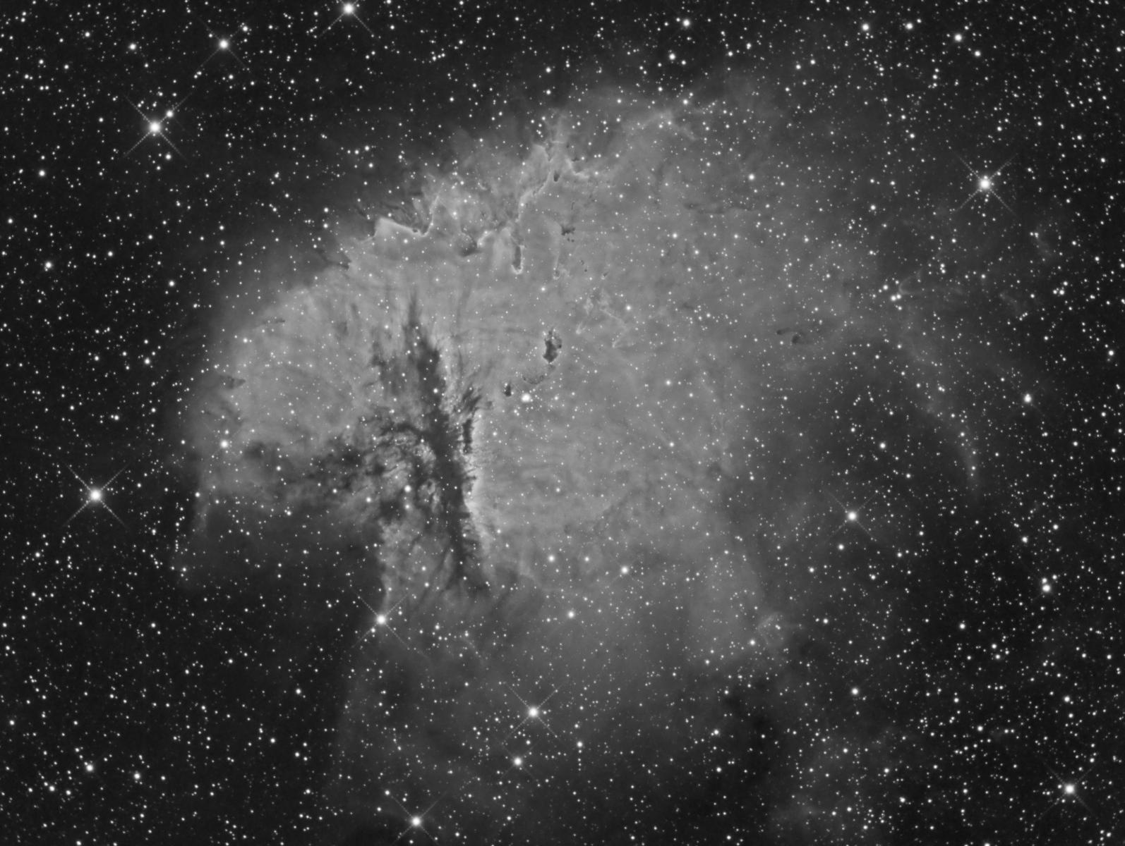NGC281 (H-alpha)