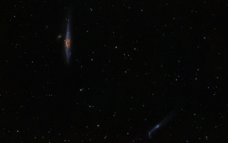 Whale and Hockey Stick Galaxies
