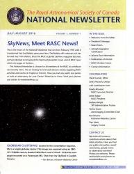 RASC Newsletter V1-1, July-August 2016