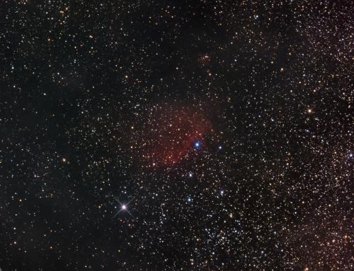 Sh2-65 Emission Nebula