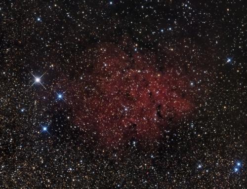 Sh2-72 Emission Nebula