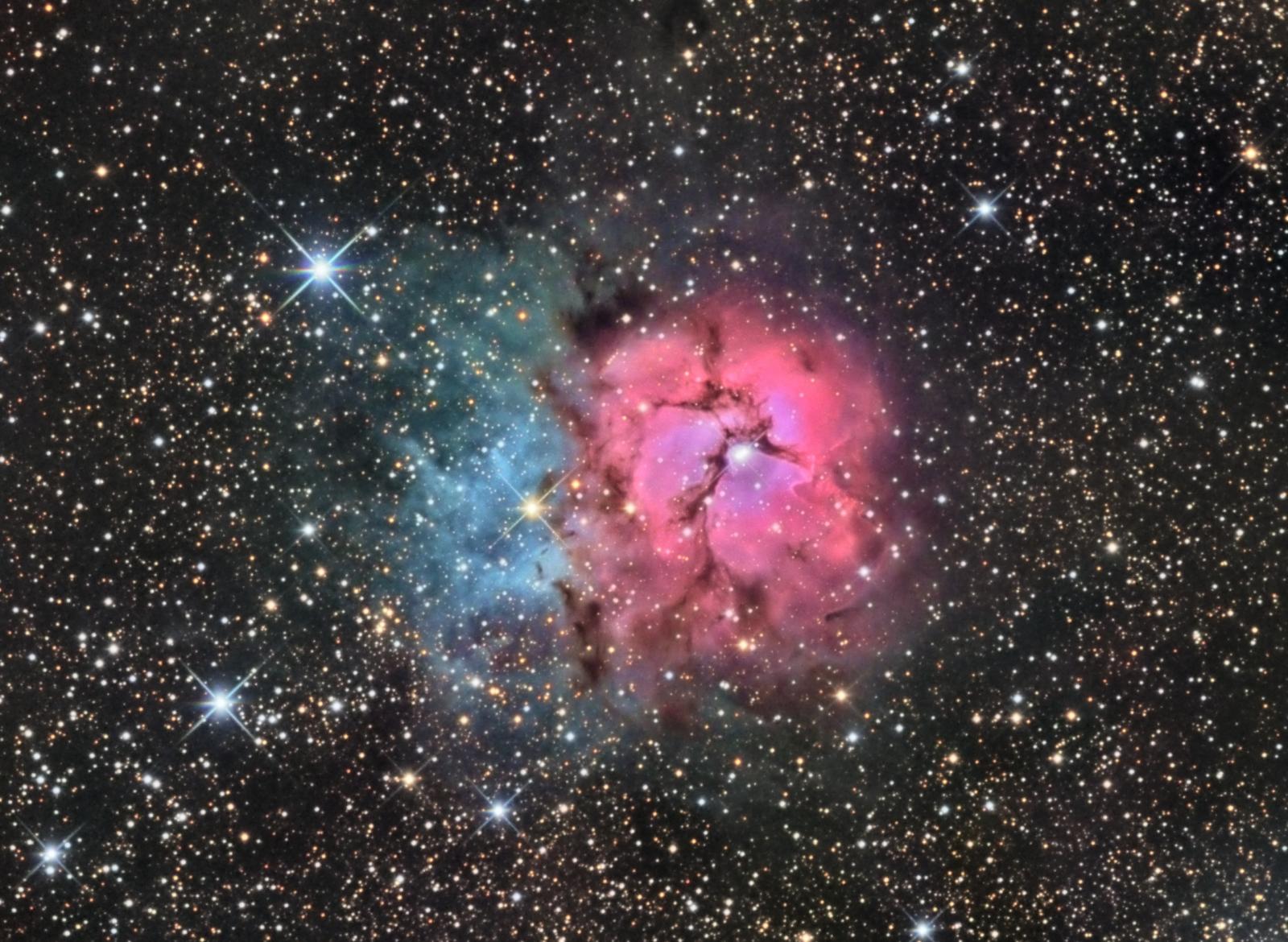 M20, The Trifid Nebula