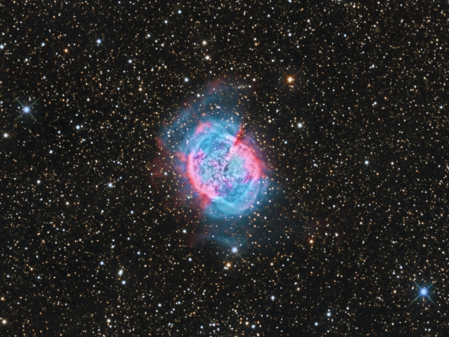 M27, The Dumbbell Nebula