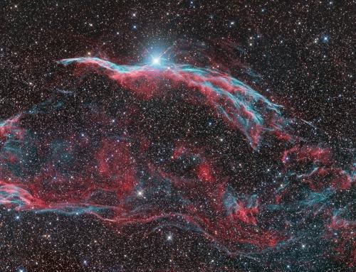 NGC6960, the Western Veil Nebula