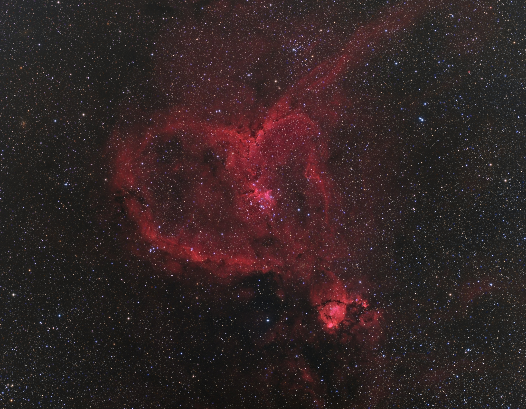The Heart Nebula - Astrodoc: Astrophotography by Ron Brecher