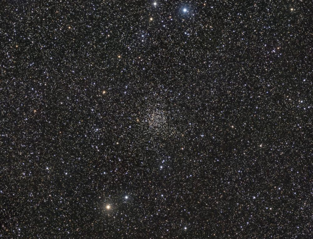 "NGC 7789, ""Carolyn's Rose Cluster"" Wide Field"