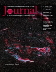Journal of the Royal Astronomical Society of Canada, October 2017
