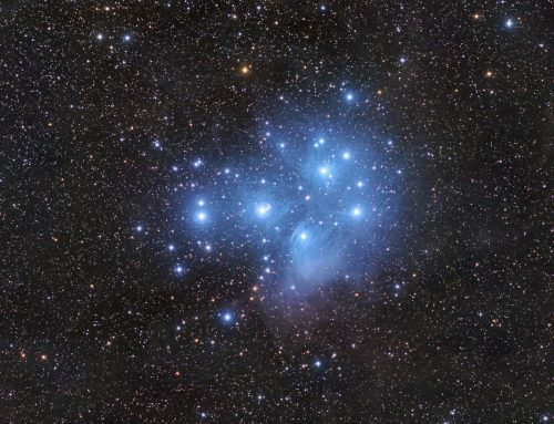 M45, The Pleiades Wide Field