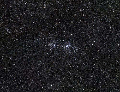 Double Cluster Wide Field