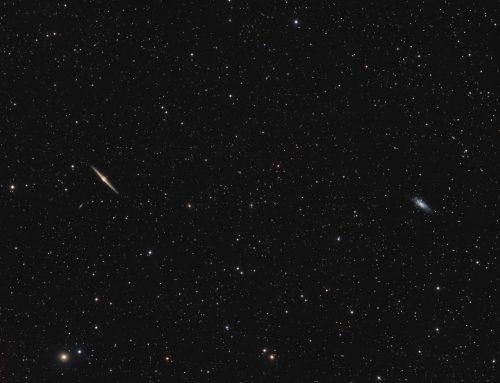 NGC 4565 and NGC 4559