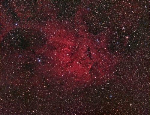 Sh2-132 Emission Nebula
