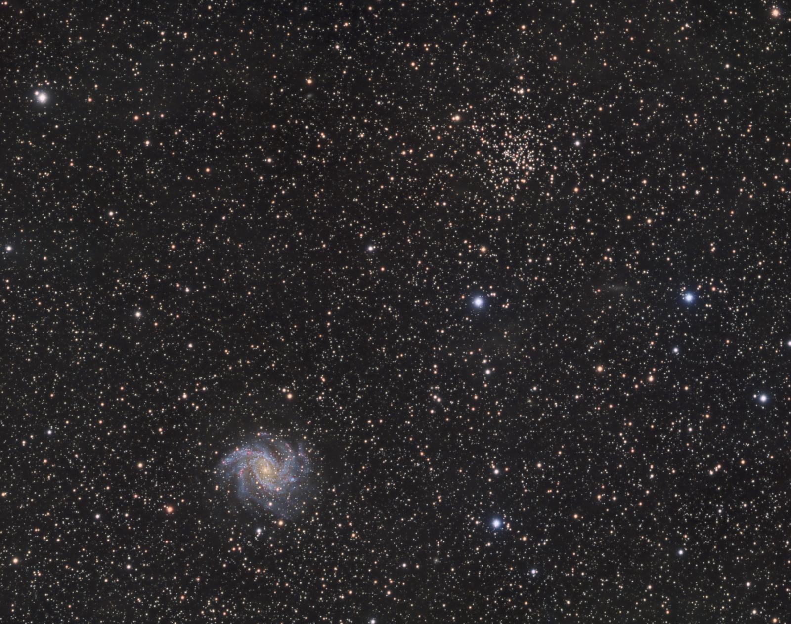 NGC 6946 and NGC 6939