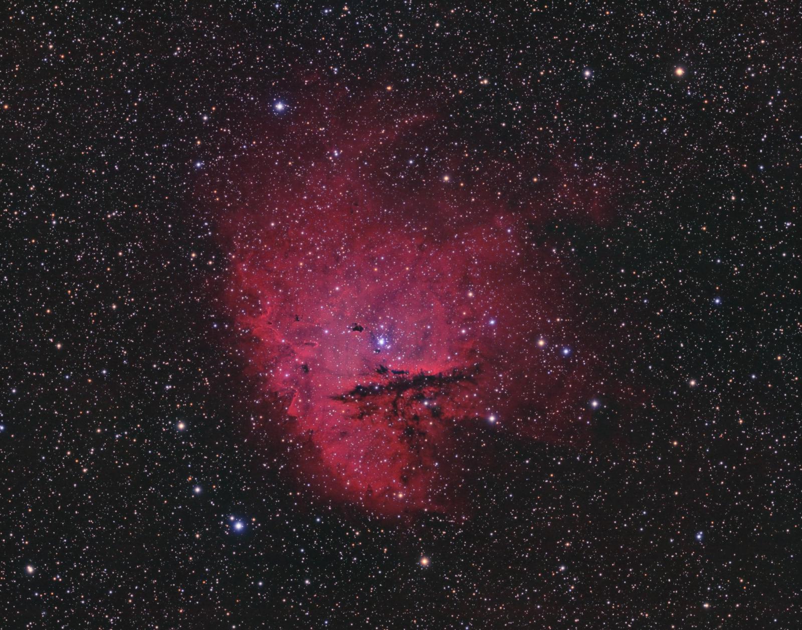 NGC 281, the Pacman Nebula