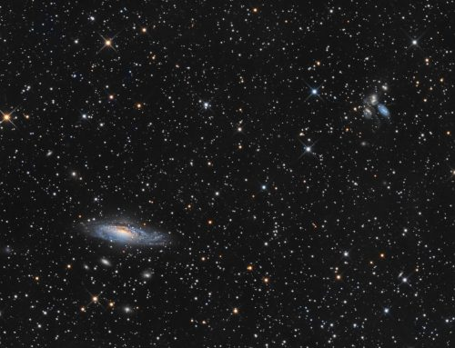 NGC 7331 and Stephan's Quintet