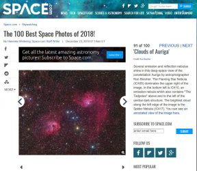 Space.com Best of 2018 - Clouds of Auriga