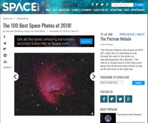 Space.com Best of 2018 - NGC 281