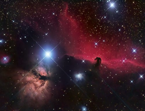 Horsehead Nebula and Flame Nebula