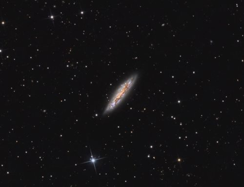 M108, Barred Spiral Galaxy
