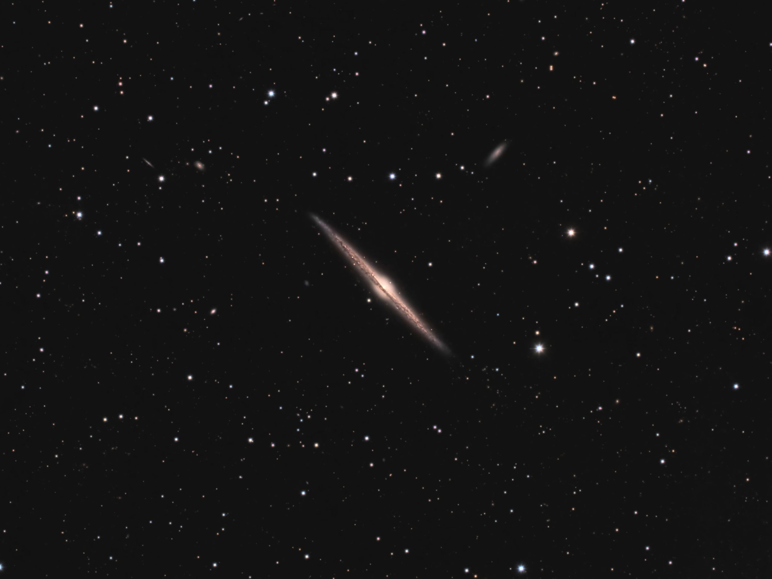 NGC 4565, The Needle Galaxy
