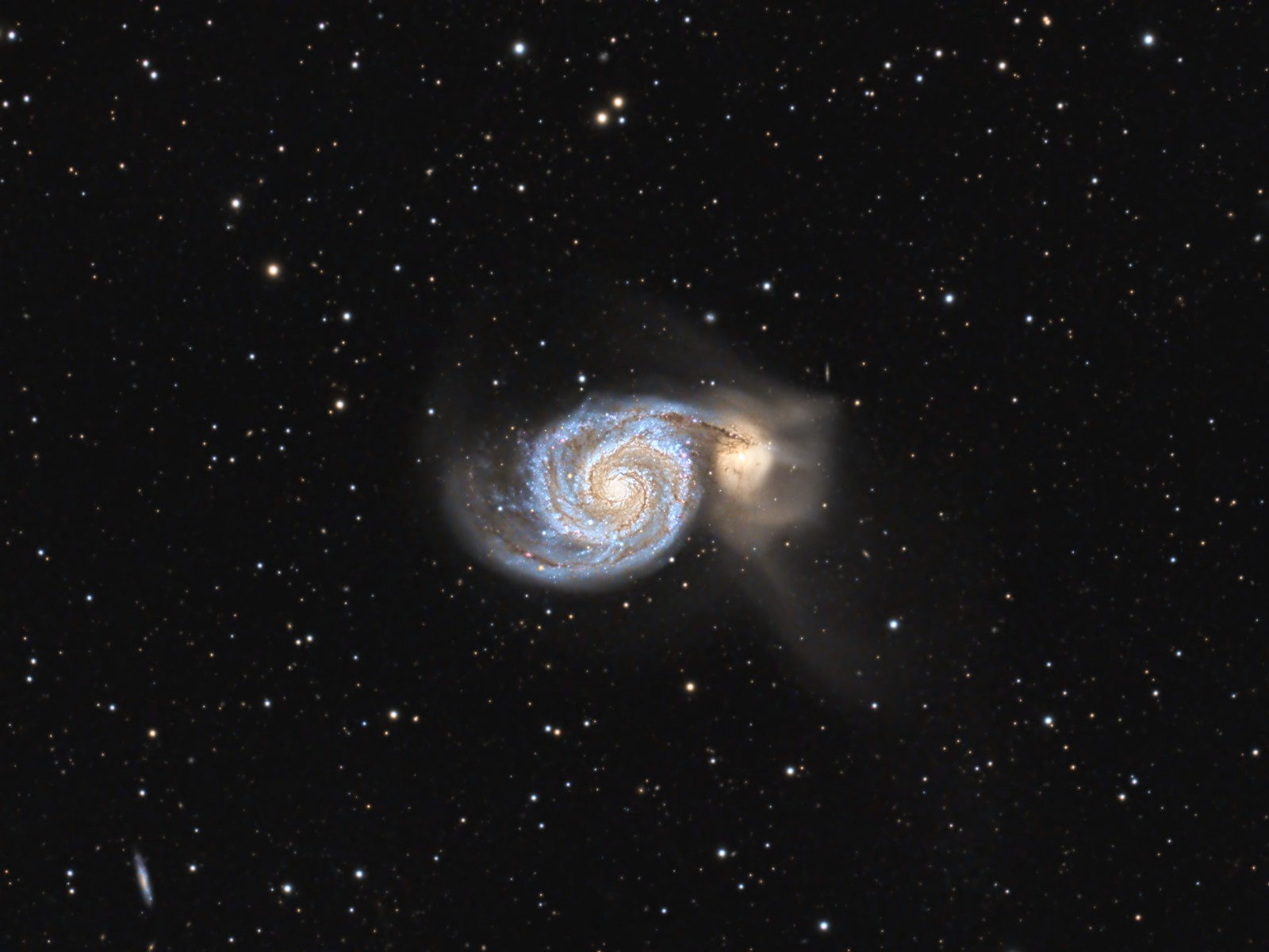 M51, The Whirlpool Galaxy